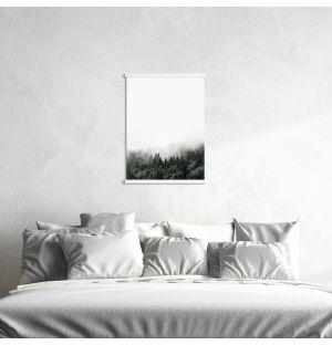 Cadre magnétique blanc