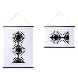 Cadre magnétique noir