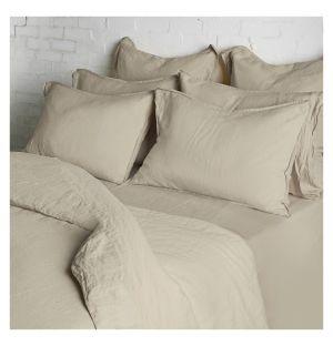 Linge de lit en lin naturel