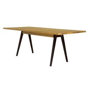 Table Welles chêne & fonte - 200 x 90 cm - De La Espada