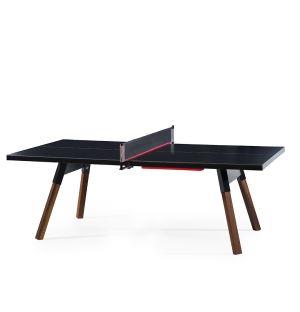 Table de ping-pong You & Me noire