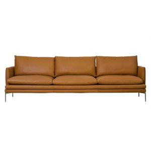 Canapé William en cuir 266 cm - Zanotta
