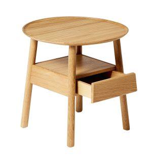 Table de chevet ronde Secret