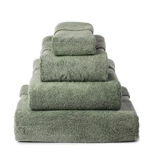 Ensemble de serviettes de bain en coton - sauge