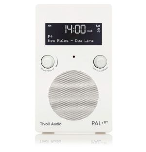 Radio bluetooth portative PAL+ High Gloss blanc