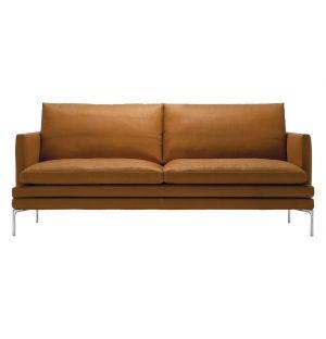 Canapé William en cuir 180 cm - Zanotta