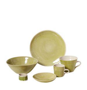 Collection de vaisselle Brights verte