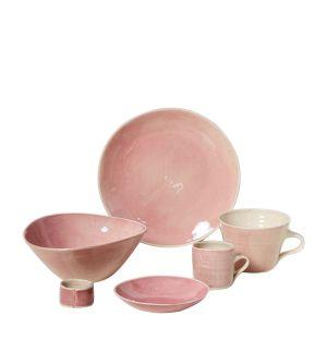 Collection de vaisselle Brights rose