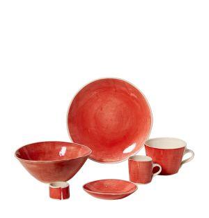 Collection de vaisselle Brights rouge