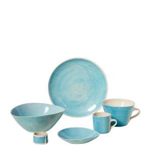Collection de vaisselle Brights turquoise