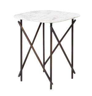 Table d'appoint en marbre Workshop