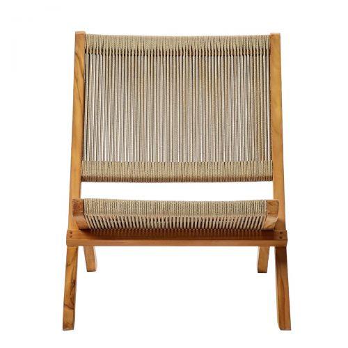 Folding Rope Lounge Chair