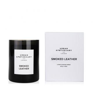 Bougie parfumée Smoked Leather - 300 g