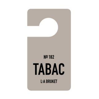 Etiquette parfumée N°182 Tabac