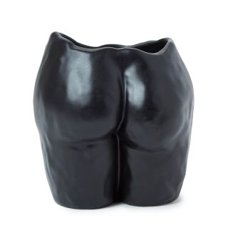 Vase Popotin noir