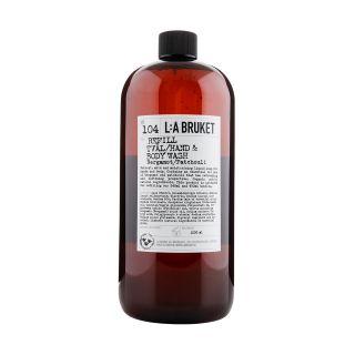 Recharge nettoyant pour les mains & le corps N°104 bergamote et patchouli 1000ml