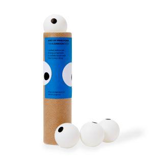 Set de quatre balles de ping pong - Exclusivité