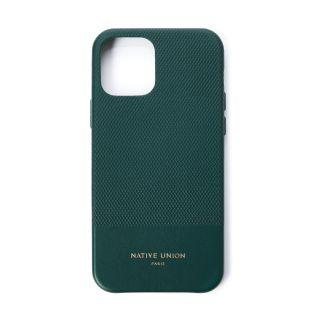 Coque Clic Heritage pour iPhone 12 Pro vert foncé