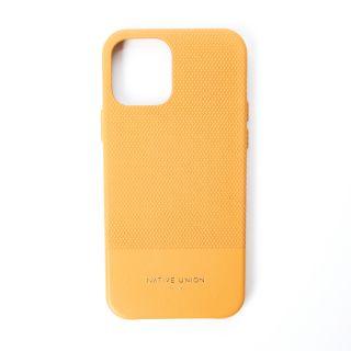 Coque Clic Heritage pour iPhone 12 Pro jaune